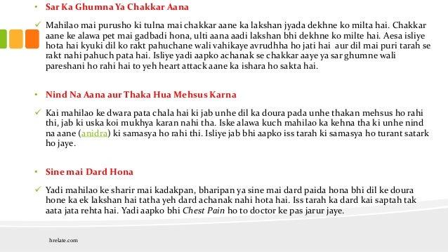 Heart Attack Symptoms in Women : Jaane Hraday-Ghat ke Lakshan