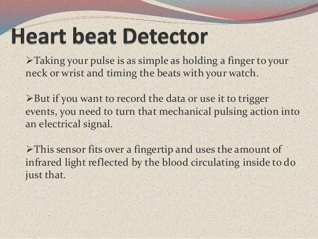 Heart Beat Detector Using Arduino