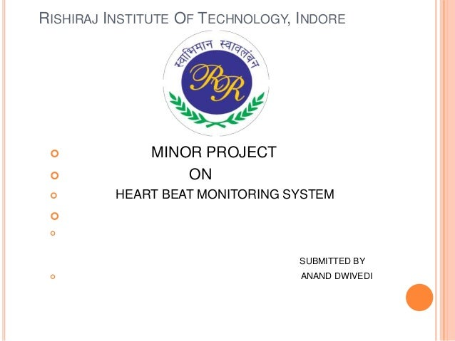 Patient monitoring system project ppt