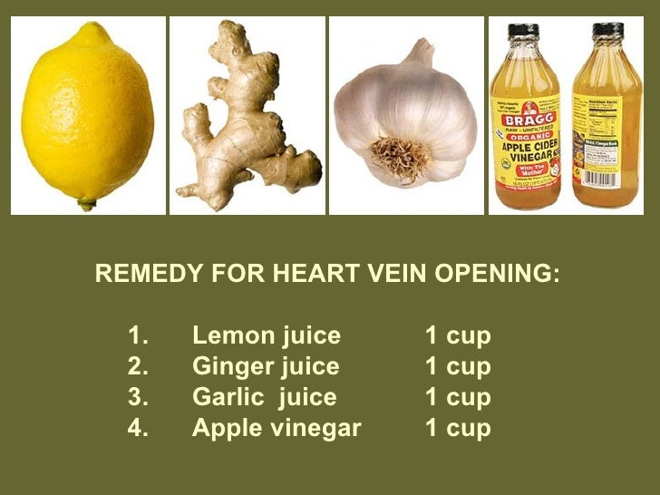 How to clear heart blockages naturally