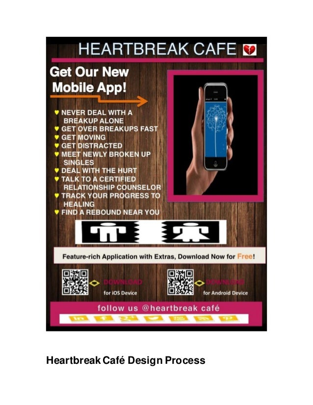 heartbreak cafe design process