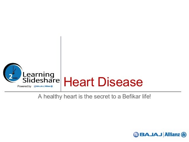 Heart DiseaseA healthy heart is the secret to a Befikar life!Powered by