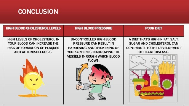 HIGH BLOOD CHOLESTEROL LEVELS HIGH BLOOD PRESSURE POOR DIET HIGH LEVELS OF CHOLESTEROL IN YOUR BLOOD CAN INCREASE THE RISK...