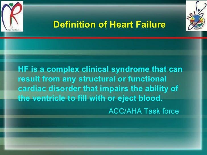 Heart failure Slide 2