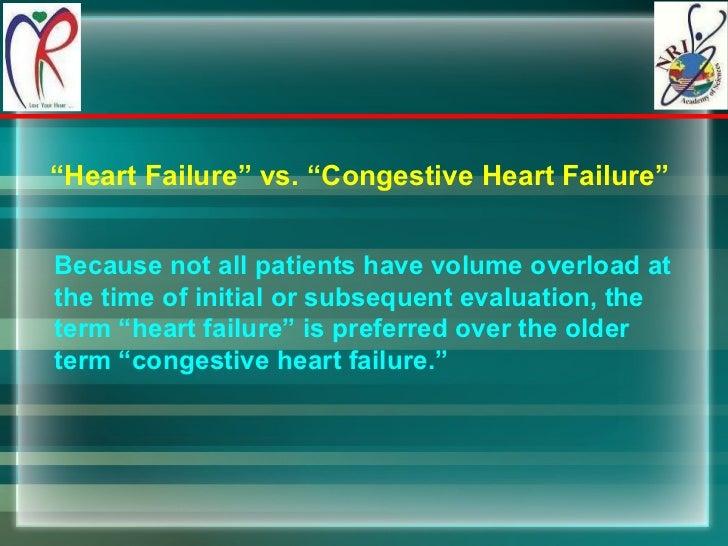 Heart failure Slide 3