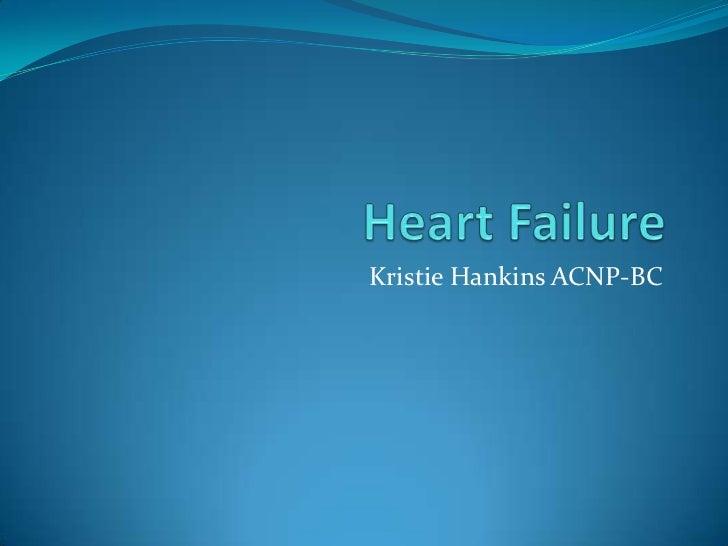 Kristie Hankins ACNP-BC