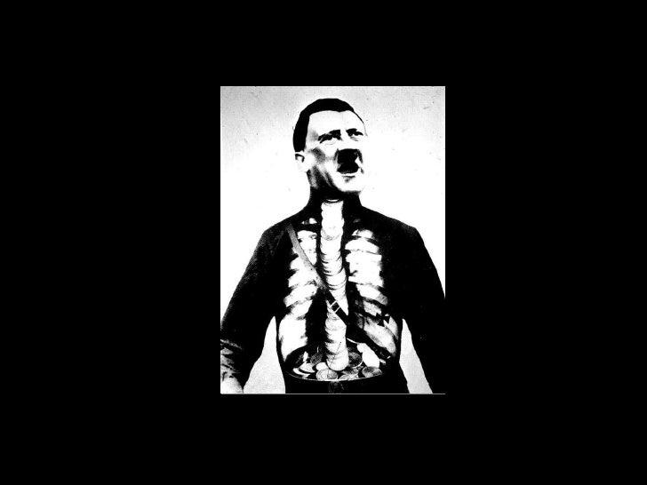 John Heartfield - Photomontage born Helmut Herzfeld 1891 z Adolf the Superman: Swallows Gold and Spouts Junk
