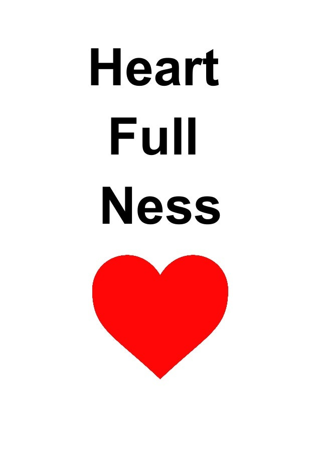 heart full ness