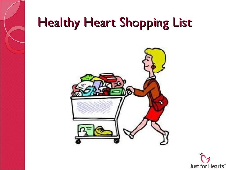 Healthy Heart Shopping List