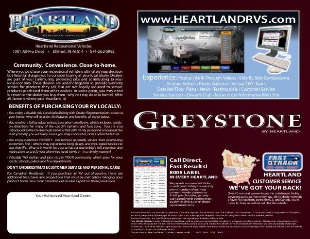 Heartland Greystone 2013 Brochure