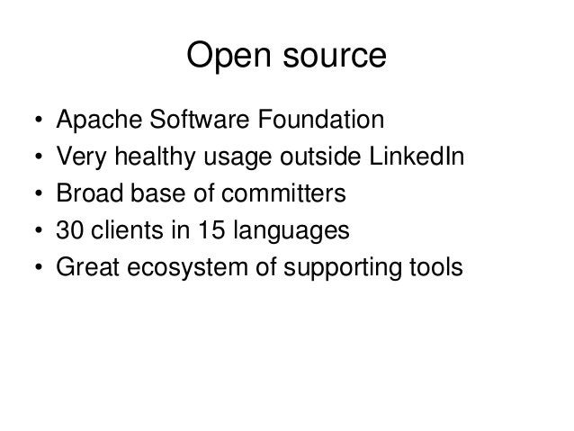 The Plan 1. Apache Kafka 2. Logs and Distributed Systems 3. Logs and Data Integration 4. Logs and Stream Processing