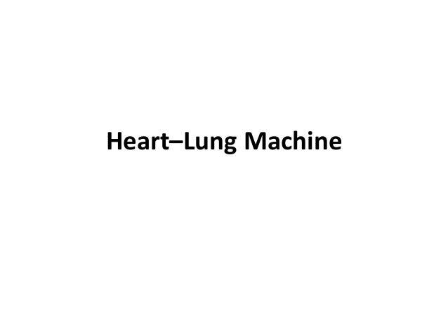 Heart–Lung Machine