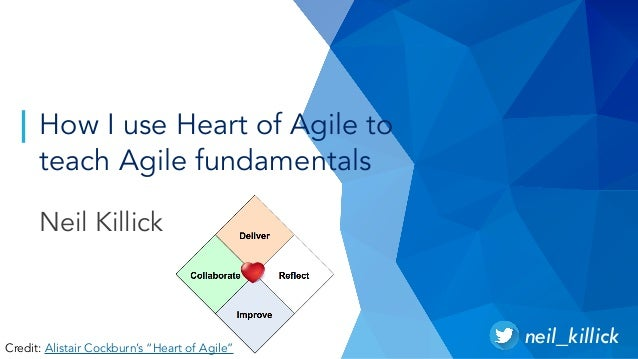 How I use Heart of Agile to teach Agile fundamentals