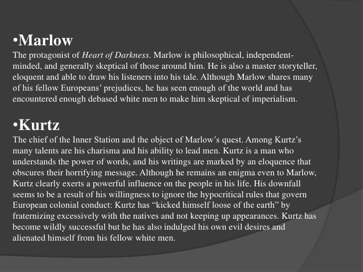 marlow character analysis heart of darkness