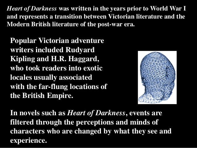 """literary analysis of the novel heart of darkness by joseph conrad Home » samples » literature » analysis of joseph conrad's in and imagery in """"the heart of darkness"""" joseph conrad had written in the novel on page 3."""