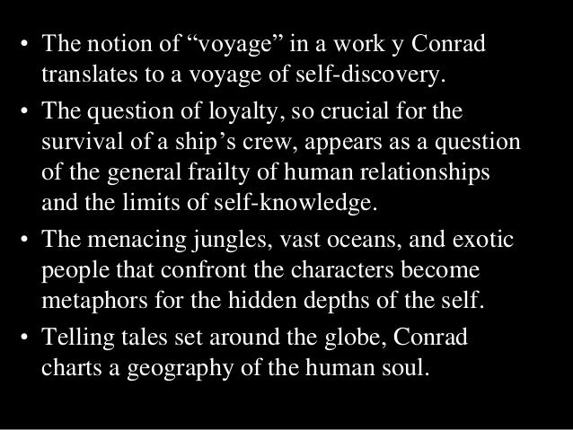ambiguity in conrads heart of darkness Exploring anti-imperialist and racist qualities in heart of darkness by  he stresses that ambiguity at every  unlike conrad's heart of darkness, .