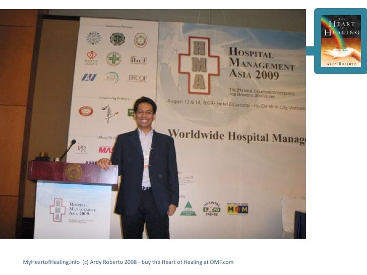MyHeartofHealing.info (c) Ardy Roberto 2008 - buy the Heart of Healing at OMF.com