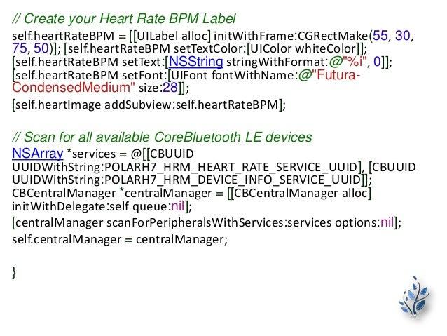 Heart Rate Monitor App Development