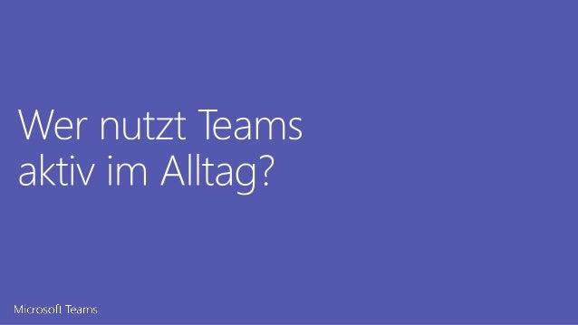 5 Tipps zu interner Kommunikation mit Microsoft Teams Slide 3
