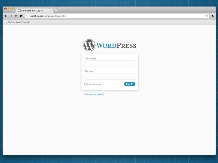 Matt Thomas  WordPress Style Lead