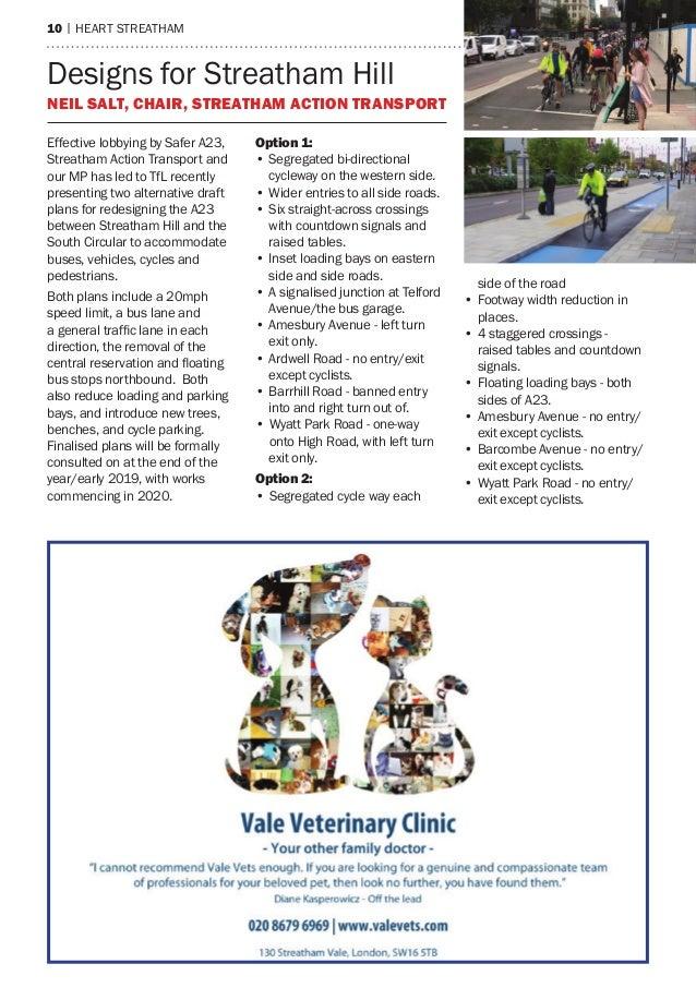 10 | heart streatham Designs for Streatham Hill Neil Salt, Chair, Streatham Action Transport Effective lobbying by Safer A...