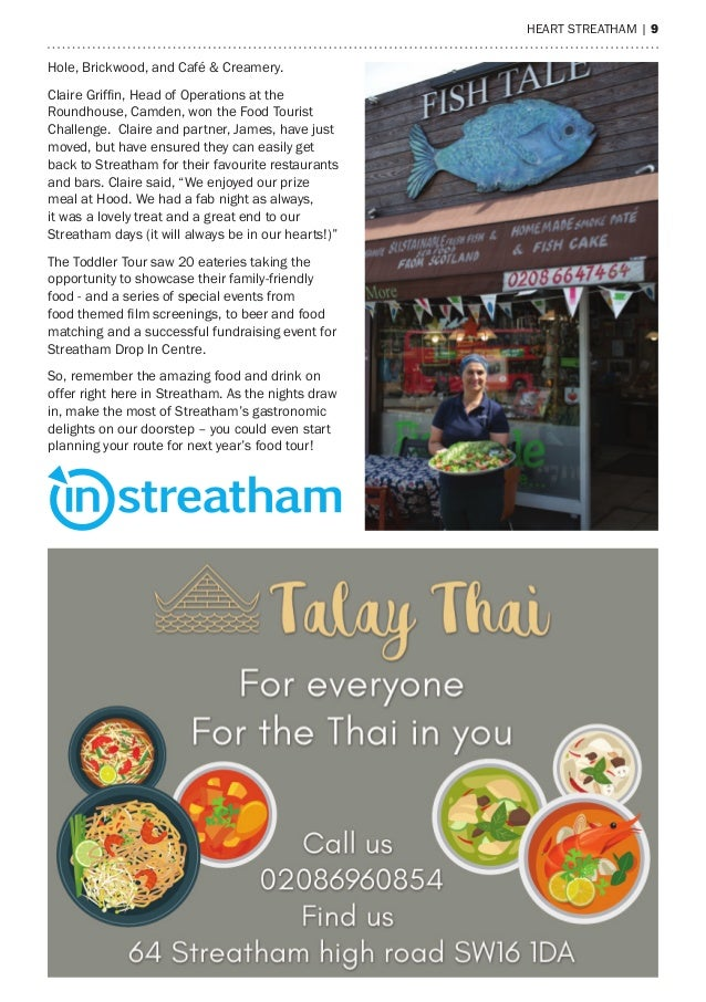 heart streatham | 9 Hole, Brickwood, and Café & Creamery. Claire Griffin, Head of Operations at the Roundhouse, Camden, wo...