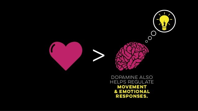 > dopamine also helps regulate movement & emotional 