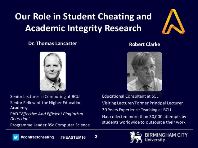 Contract Cheating and Academic Misconduct in Examinations and Tests -…