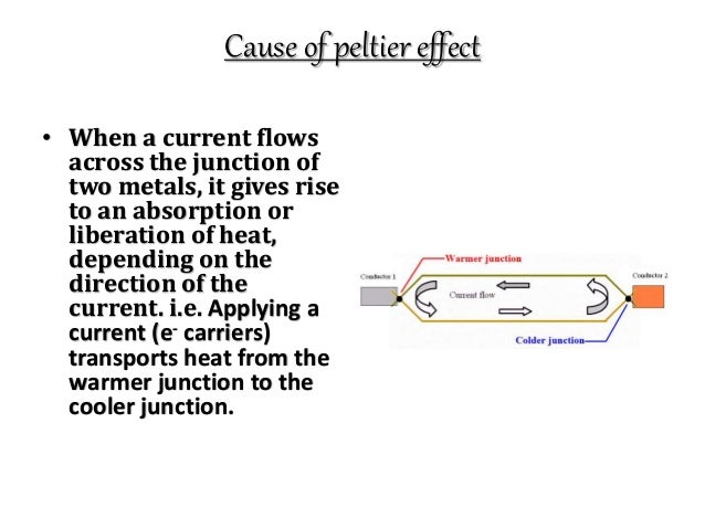 thermocouple,peltier effect,seabeck effect