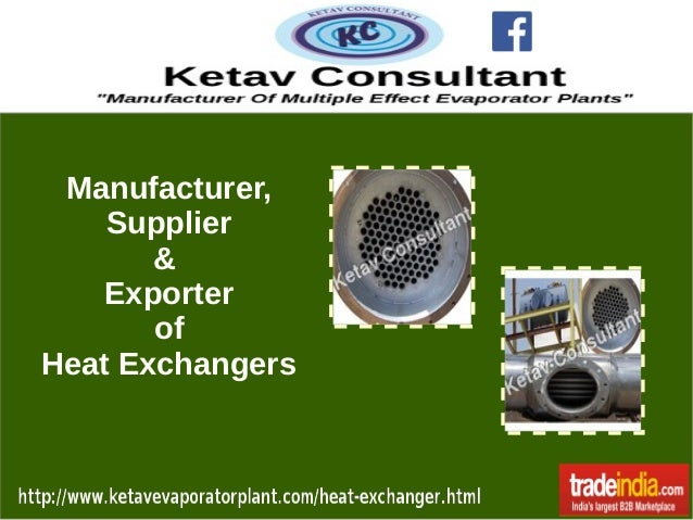 Manufacturer, Supplier & Exporter of Heat Exchangers