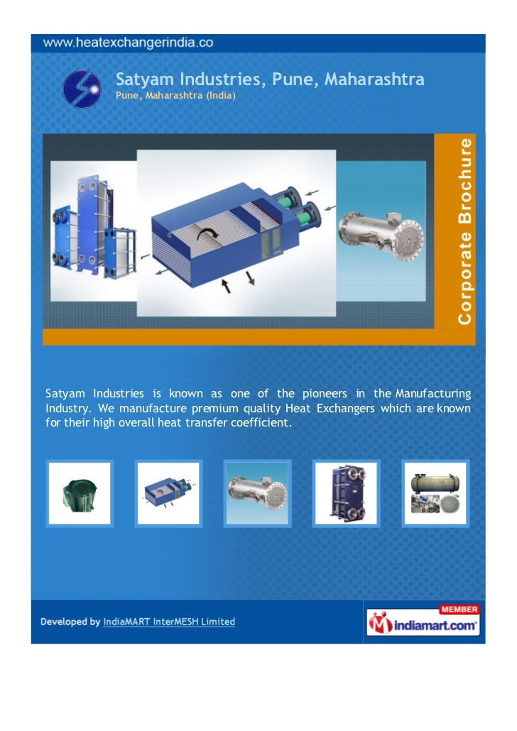 Satyam Industries, Pune, Maharashtra           Pune, Maharashtra (India)Satyam Industries is known as one of the pioneers ...