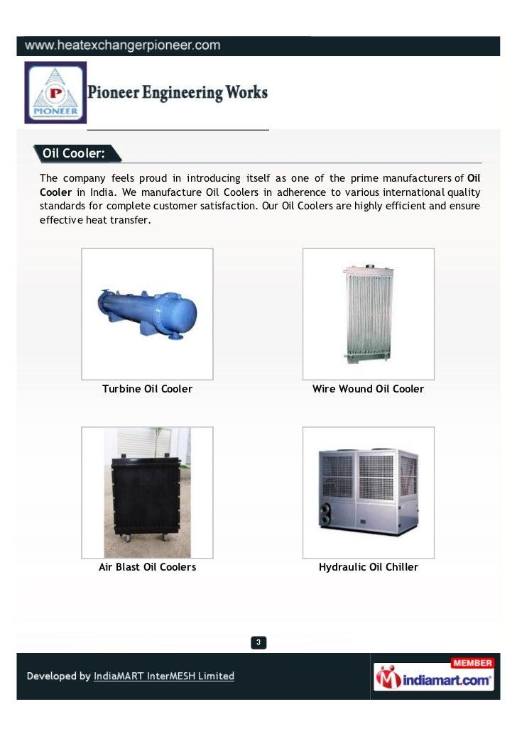 Pioneer Engineering Works, Coimbatore, Air Cooled Condenser Slide 3