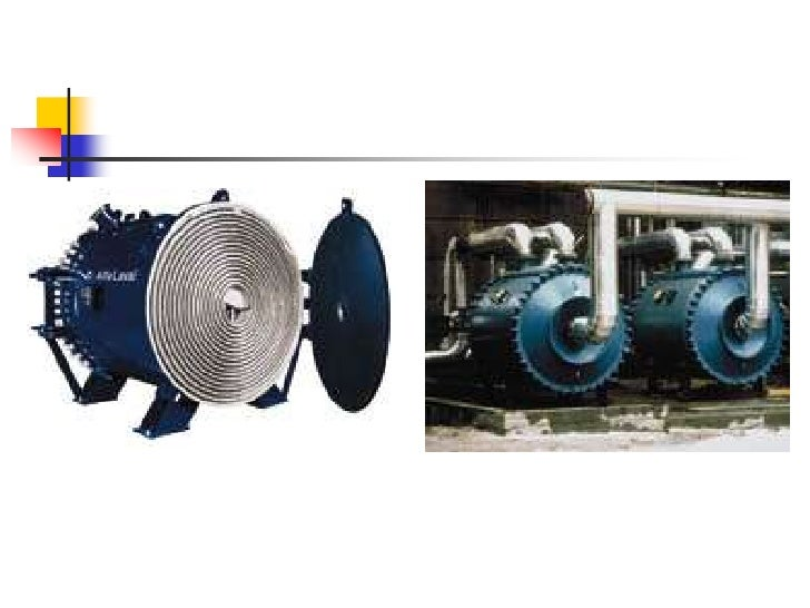 A spiral heat exchanger is composed of two long, flat plates wrapped around a mandrel or center tube, creating two concent...