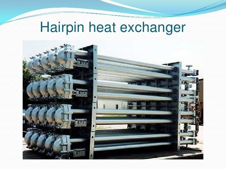 Hairpin heat exchanger