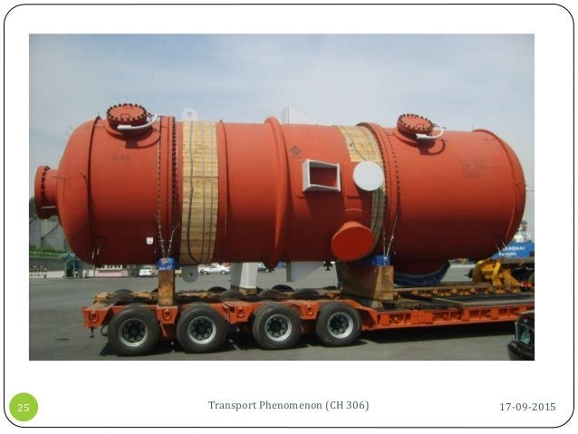 17-09-2015Transport Phenomenon (CH 306)25