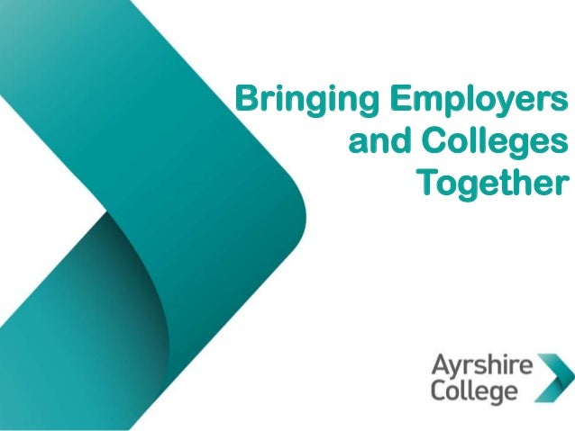 Bringing Employers and Colleges Together