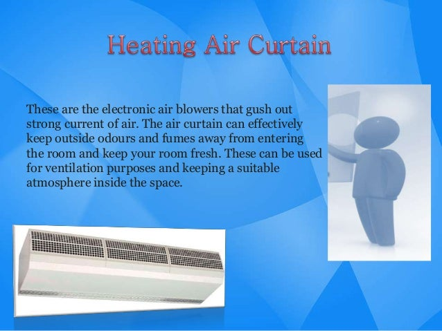 Heating Air Curtain Installation Method