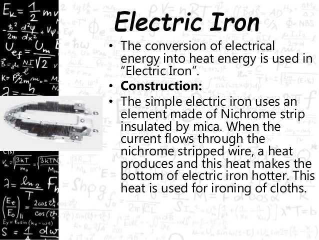 heating effect of electric current  physics  electricity