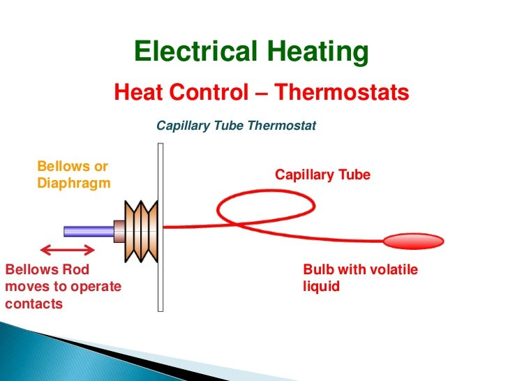 Electrical Heating on electronic thermostat circuit