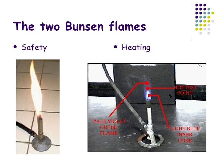 how to set up a bunsen burner correctly