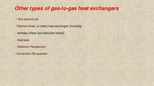 Heat Recuperators Air-to-Air, Air-Liquid-Air