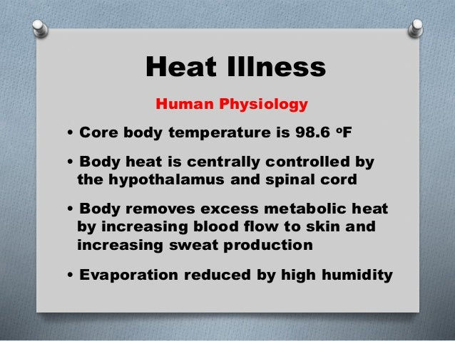 The Health Effect of Heat-Illness on Baseball and Softball ...