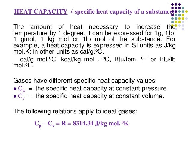 Specific heat experiment of stainless steel