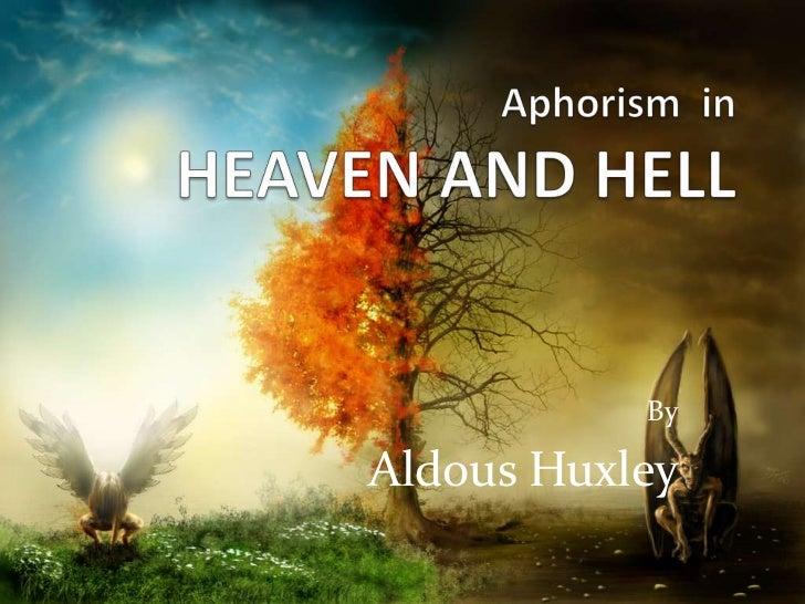 ByAldous Huxley