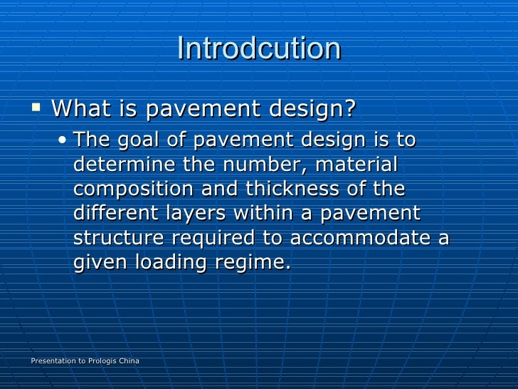 pavement design A simplified pavement design tool for flexible and rigid pavements using  aashto  pavexpress includes access to resources such as design guides  from state.