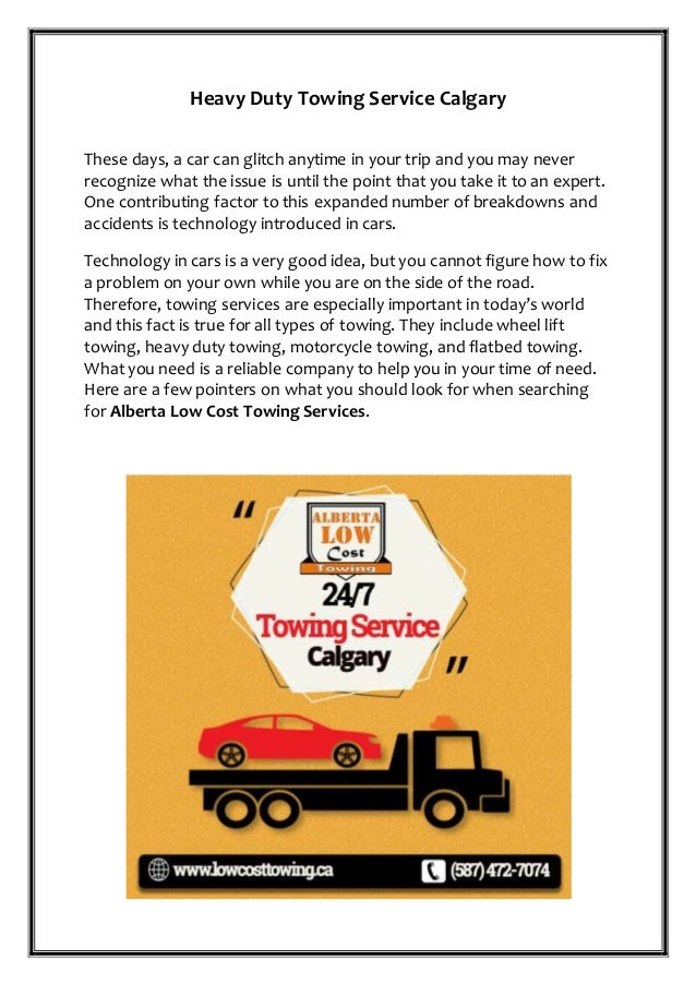 Towing Service Cost >> Heavy Duty Towing Service Over Calgary