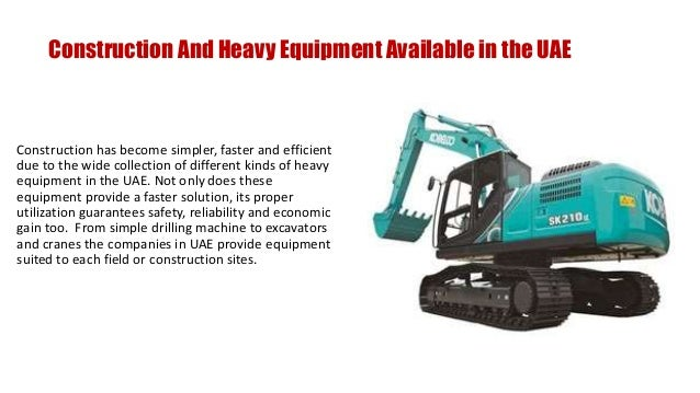 Heavy Equipment Companies in UAE - Saeed Mohammed Al Ghandi