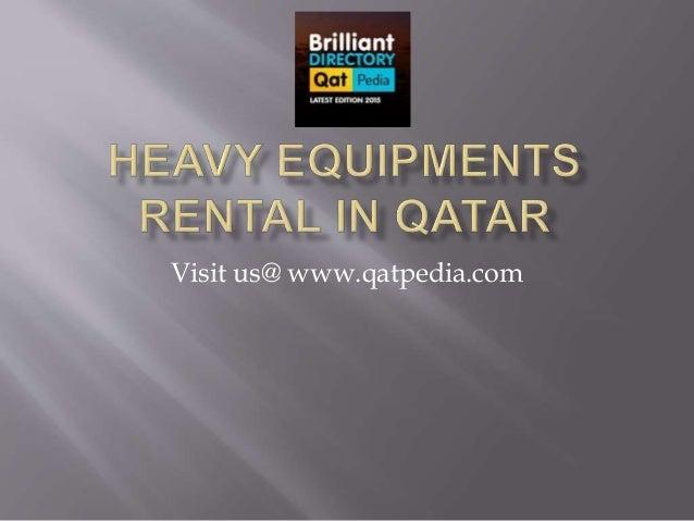 Visit us@ www.qatpedia.com