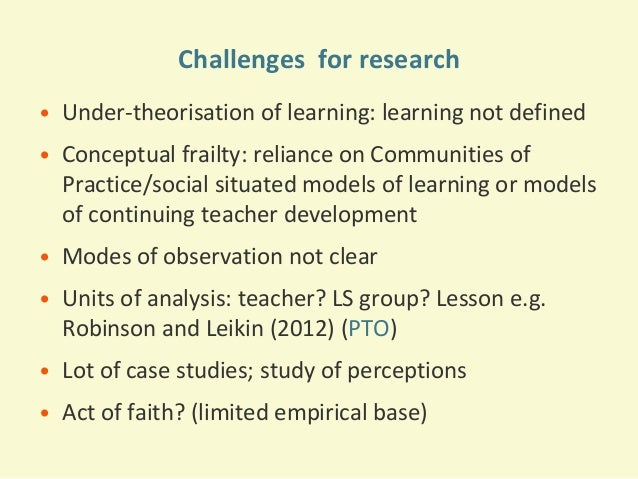 an introduction to the analysis of learning a good lesson To conclude, the lesson plan incorporates good collaborative learning that can keep learners engaged within the classroom this can help students become more willing to participate, help them make better associations, and can help with the variety of learning styles that are found in a classroom setting.