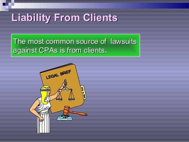auditors third party liability When the independent auditor furnishes an opinion with no limitation in the   now, for third party liability to attach to an accountant, the court must find that the .